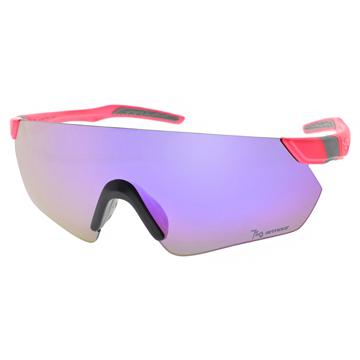 720運動太陽眼鏡 多層鍍膜防爆PC系列(螢光紅-紫水銀) #720B392 C06
