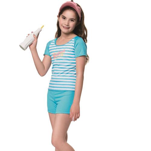 SARBIS 沙兒斯 中童兩截式泳裝附泳帽 B72808
