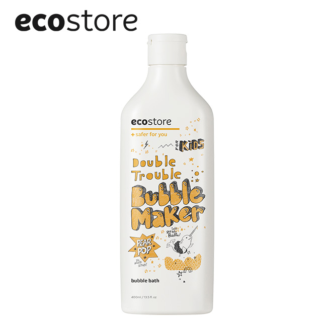 ecostore純淨兒童泡泡浴400ml-甜梨子