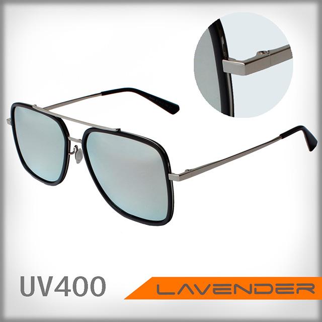 Lavender 偏光片太陽眼鏡 8060 C1 金水銀