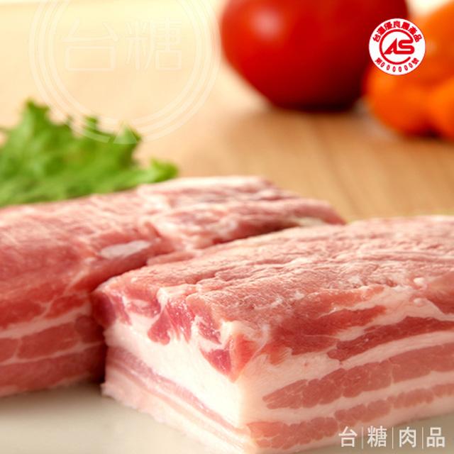 台糖 五花肉(600g/盒)