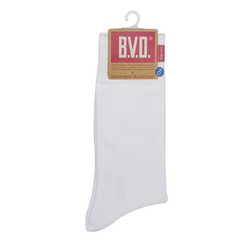 BVD男細針休閒襪