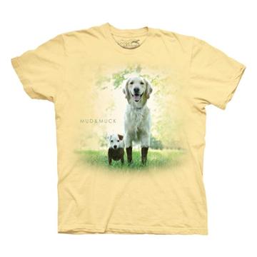 『摩達客』美國進口【Loose Leashes】自由狗系列 泥巴狗狗 T恤
