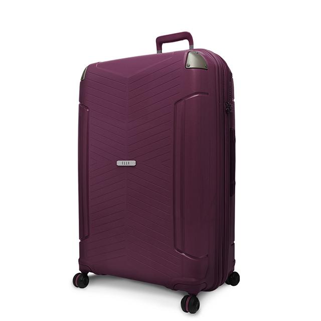 ELLE Time Traveler系列-24吋特級極輕防刮PP材質行李箱-寶石紫 EL31232
