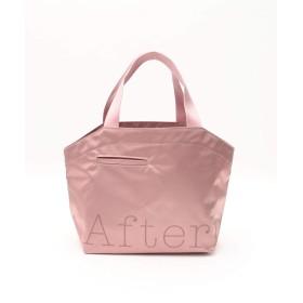 [ アフタヌーンティー リビング ] AfternoonTea LIVING エコバッグ・買い物バッグ サテン ポケットートバッグ ピンク