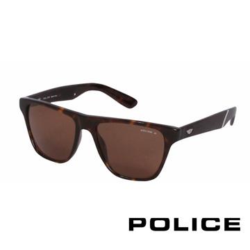 POLICE 都會時尚太陽眼鏡 (琥珀) POS1796-722Z