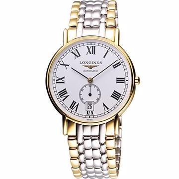 LONGINES Presence 經典小秒針機械腕錶- L48052117