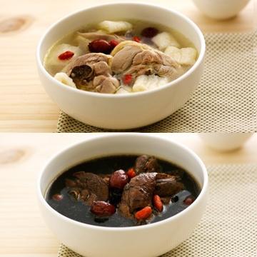 【郭老師】竹笙枸杞雞湯+十全大補雞湯