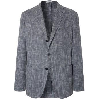 《セール開催中》BOGLIOLI メンズ テーラードジャケット ブルーグレー 48 バージンウール 43% / コットン 32% / ナイロン 25%