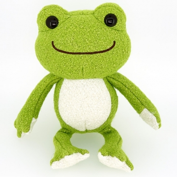 pickles the frog 萌蛙匹克 迷你版 毛絨公仔