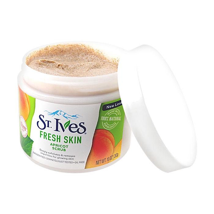 美國ST.Ives 杏桃磨砂霜(283g)【小三美日】D104729