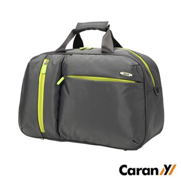 CARANY 卡拉羊 23L 拉桿套環 時尚休閒大容量輕量旅行袋 行李袋 (深灰) 58-0010