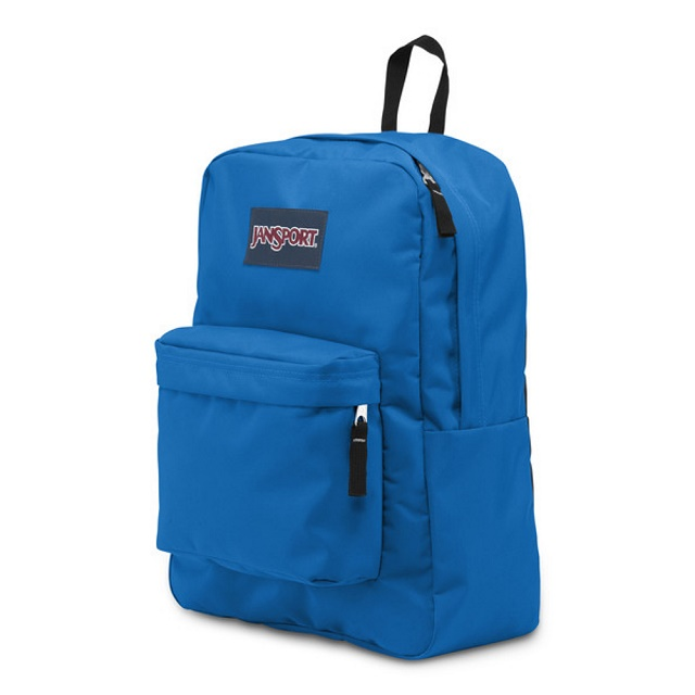 JanSport校園背包(SUPER BREAK)-恆星藍
