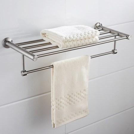 特力屋 沃克不鏽鋼毛巾置物架 霧面
