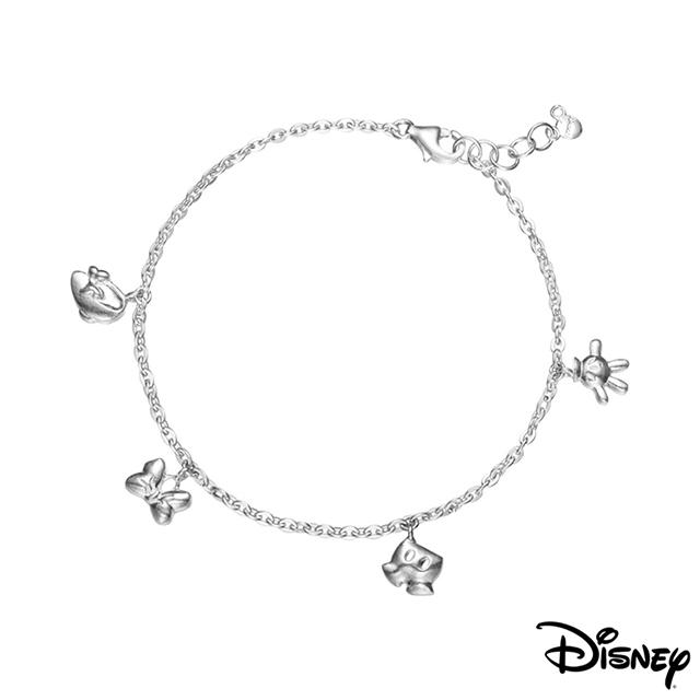 Disney迪士尼系列銀飾 愛不釋手純銀手鍊