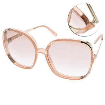 CHLOE太陽眼鏡 法式典雅大框款(透粉) #CL719S 749