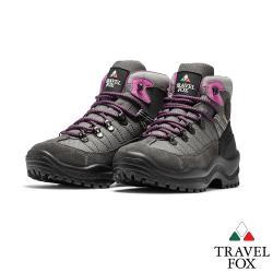 TRAVEL FOX(女) 稳石  歐系登山越野防水禦寒防震專業戶外登山鞋 - 地熱粉