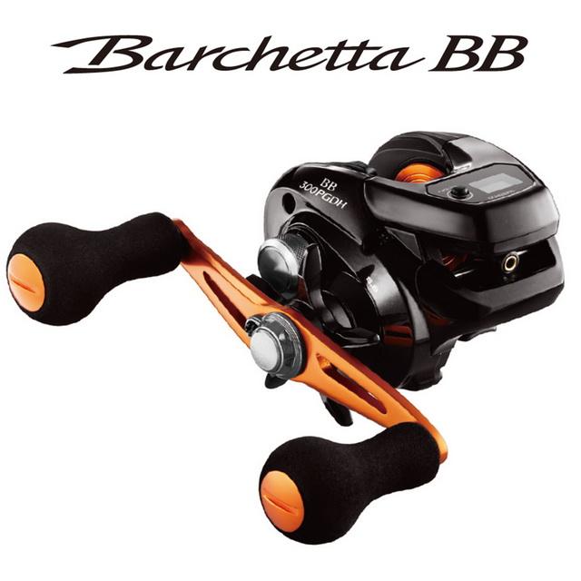 【SHIMANO】BARCHETTA BB 301HG 左 面板式 兩軸捲線器