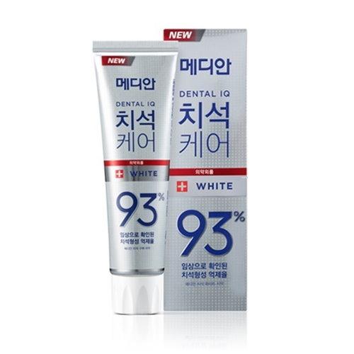 《韓國Median》93%強效淨白去垢牙膏(白色)120g