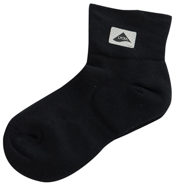 【KEROPPA】可諾帕無痕足弓運動機能女襪x2雙C98008黑