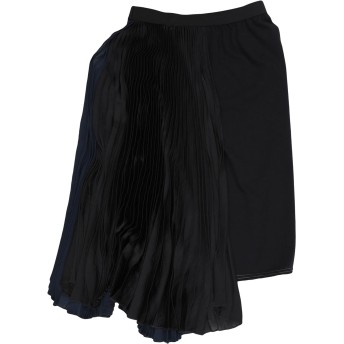 《セール開催中》HACHE レディース ひざ丈スカート ダークブルー 38 ポリエステル 100% / コットン