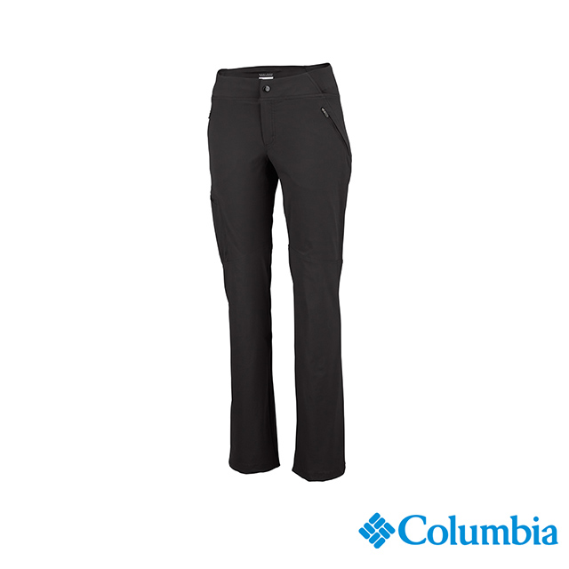 Columbia哥倫比亞 女款-UPF50快排長褲-深灰 UAR80130DY