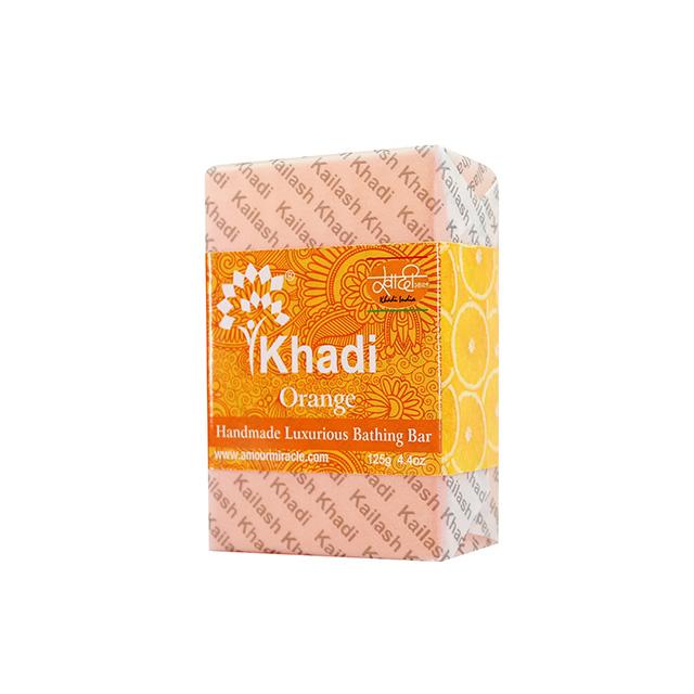 Kailash Khadi 阿育吠陀草本精油手工皂 - 香橙 125g