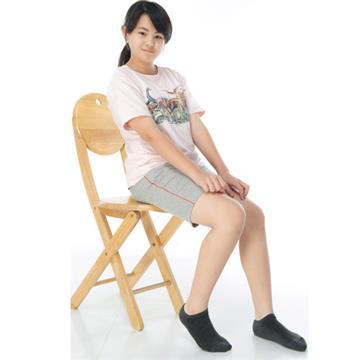 【KEROPPA】可諾帕細針毛巾底氣墊船型學生襪x4雙(男女適用)C91001-深灰