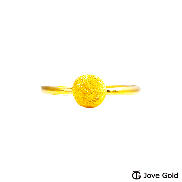 Jove gold 漾金飾 只有你黃金戒指