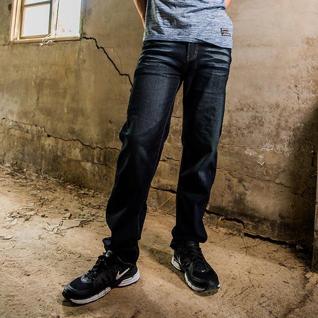 【FATAN】黑色系牛仔褲