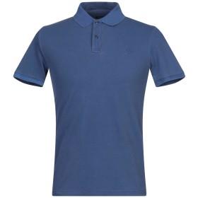 《セール開催中》WOOLRICH メンズ ポロシャツ ダークブルー S コットン 95% / ポリウレタン 5%