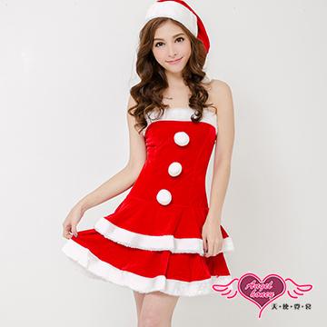 【天使霓裳】聖誕之戀 狂熱聖誕舞會 耶誕服 角色服(紅)