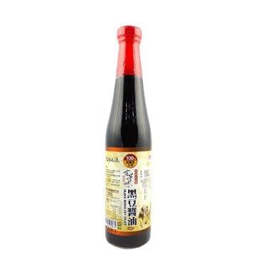 牧馬-古早味黑豆醬油420公克x3瓶