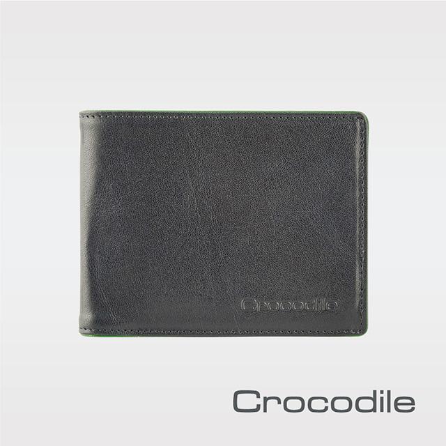 Crocodile Square Edge系列多卡短夾 0103-09105