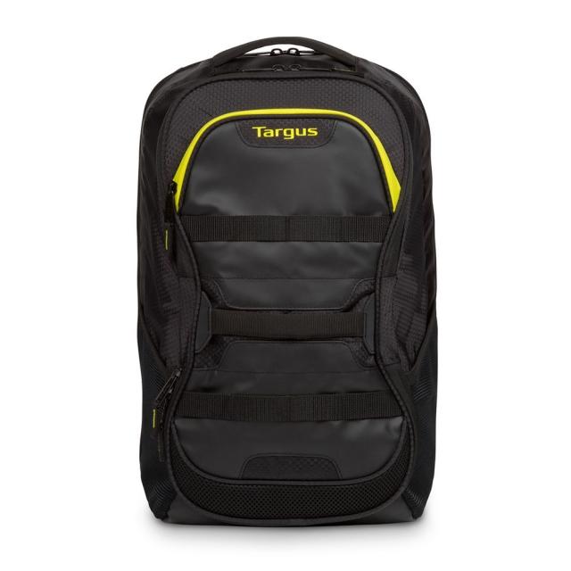 Targus Work Play 15.6英寸健身運動後背包 黑黃 TSB944