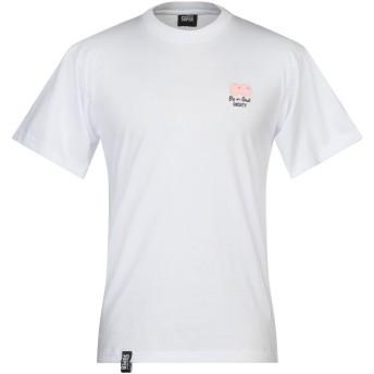 《セール開催中》VISION OF SUPER メンズ T シャツ ホワイト S コットン 100%