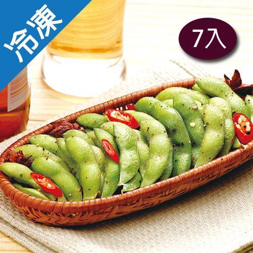 【永昇】涼拌調味毛豆夾7包(1kg/包)【愛買冷凍】