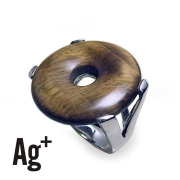 【Ag+】搶眼大方的虎眼石戒指