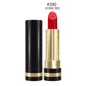 GUCCI 極致顯色水潤唇膏#390 ICONIC RED 3.5g