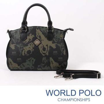 WORLD POLO-萬馬奔騰手提包