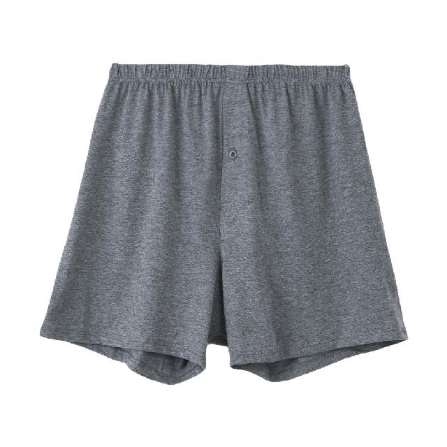 【棉花共和國】Good Design 寬鬆針織平口褲-深灰