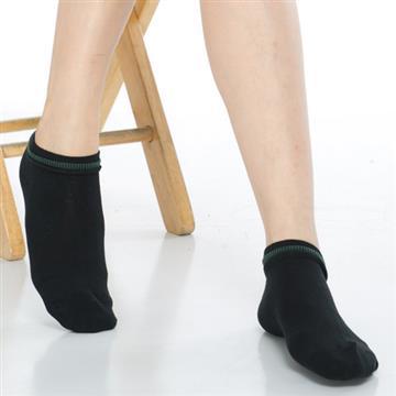 【KEROPPA】可諾帕網狀造型短襪x4雙(男女適用)C97003黑配綠