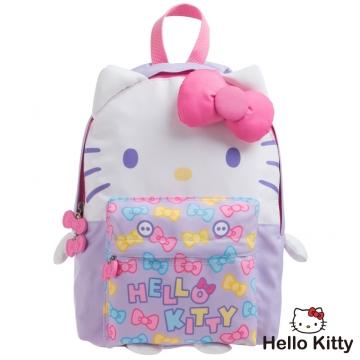 【Hello Kitty】KTQ版娃娃後背包-紫色KT02B01PL