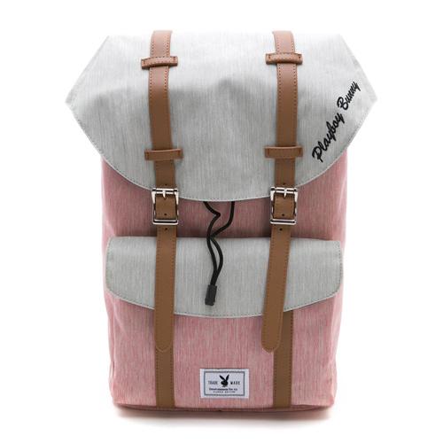 PLAYBOY- 後背包 英倫學院系列-粉色