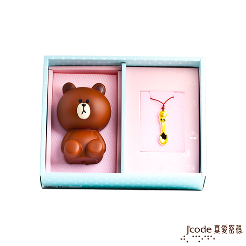 J'code真愛密碼  LINE熊大金湯匙禮盒-0.15錢