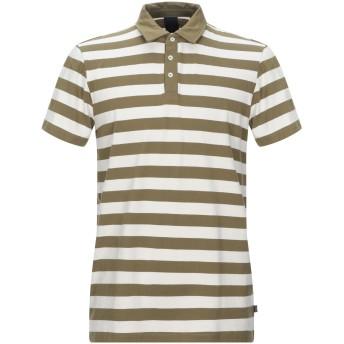 《セール開催中》SCOTCH & SODA メンズ ポロシャツ ミリタリーグリーン XL コットン 100%