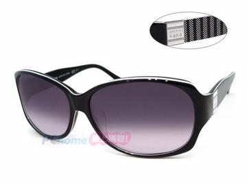Kazuma -時尚太陽眼鏡 亞洲版舒適高鼻翼 KA6011 黑框漸層灰鏡片