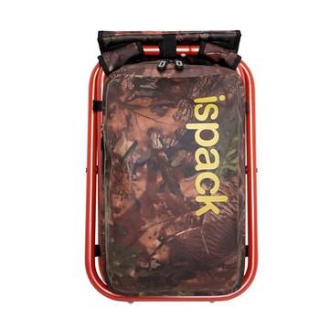 ispack迷彩防水背包椅 - 紅棕