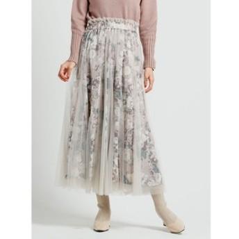 レディメイド(LADYMADE)/Romantic flower チュールティアードスカート