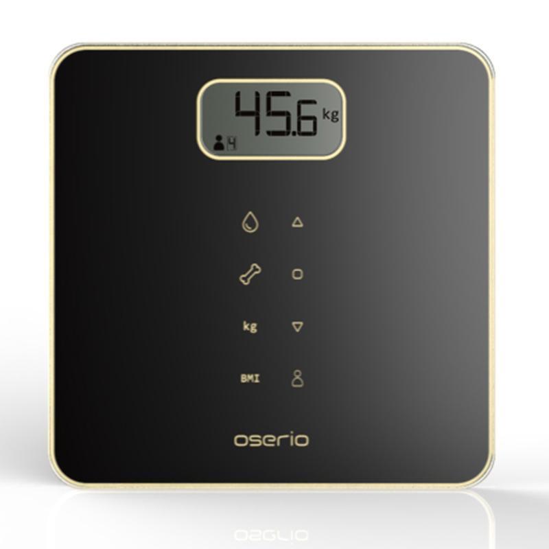 新智能美學 多功能BMI智能體重計 -MAG-605BK 曜石黑